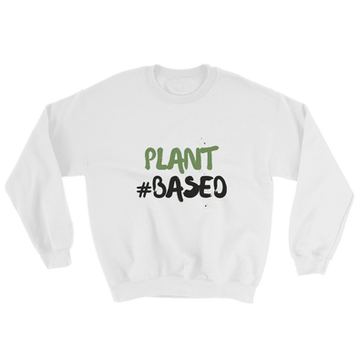 Plant #based | Vegan Sweatshirt White / S Earth Supply