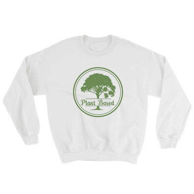 Plant Based | Vegan Sweatshirt White / S Earth Supply