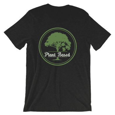 Plant Based | Vegan T Shirt Black Heather / S Earth Supply