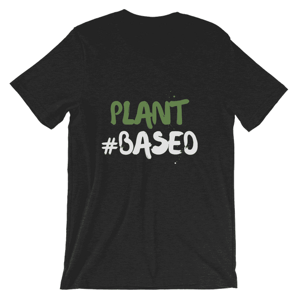 Plant #based | Vegan T Shirt Black Heather / S Earth Supply