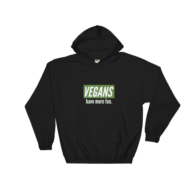 Vegans Have More Fun | Vegan Hoodie Black / S Earth Supply