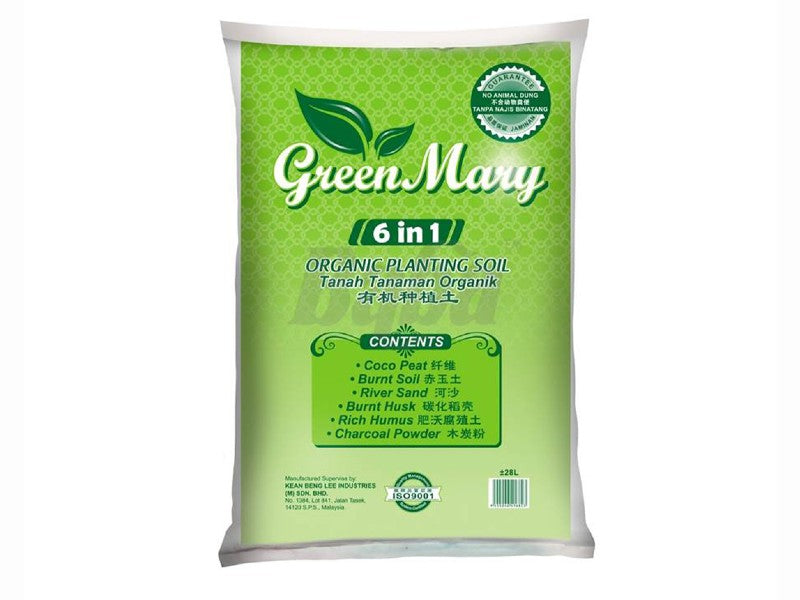 Baba Green Mary 6 in 1 Potting Mix