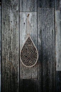 Bamboo Mason Bee House (Limited Time Only: Free Bees Forever Necklace w/Purchase-See Details Below)