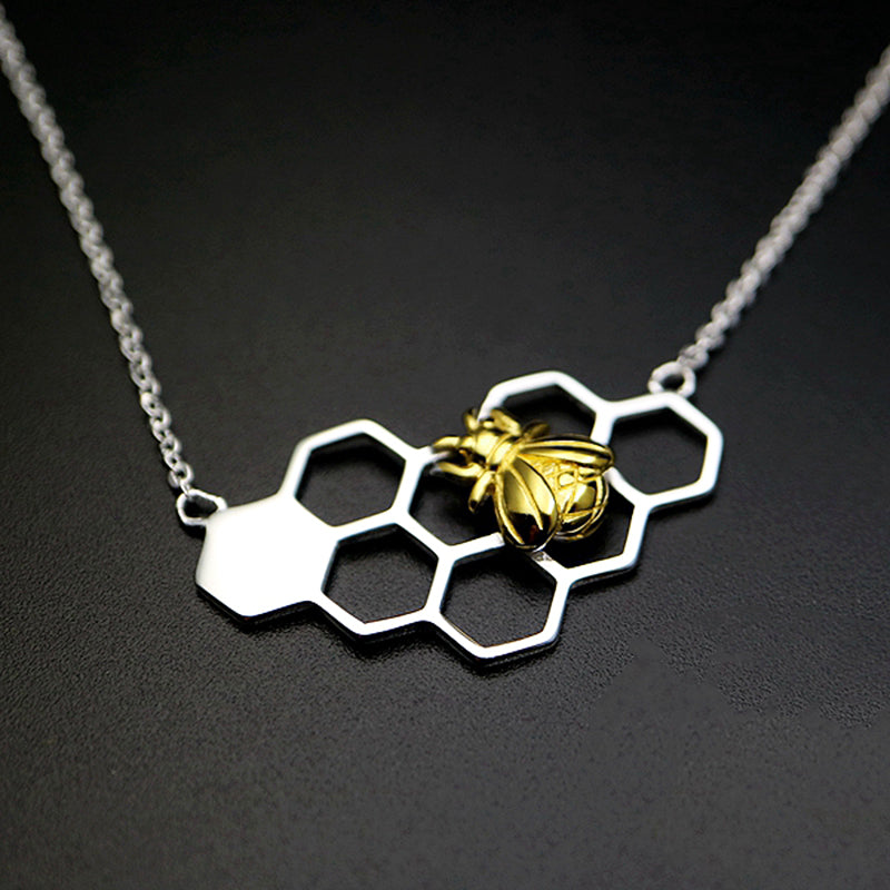 Bees Forever Pendant Necklace