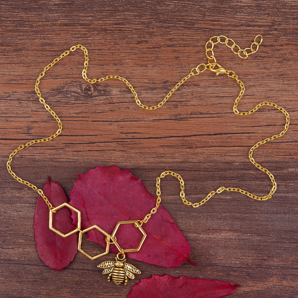 Honeycomb Sweet Necklace