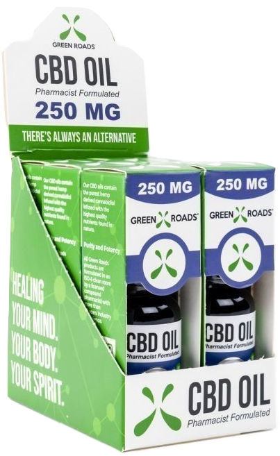 250mg CBD Oil - Green Roads