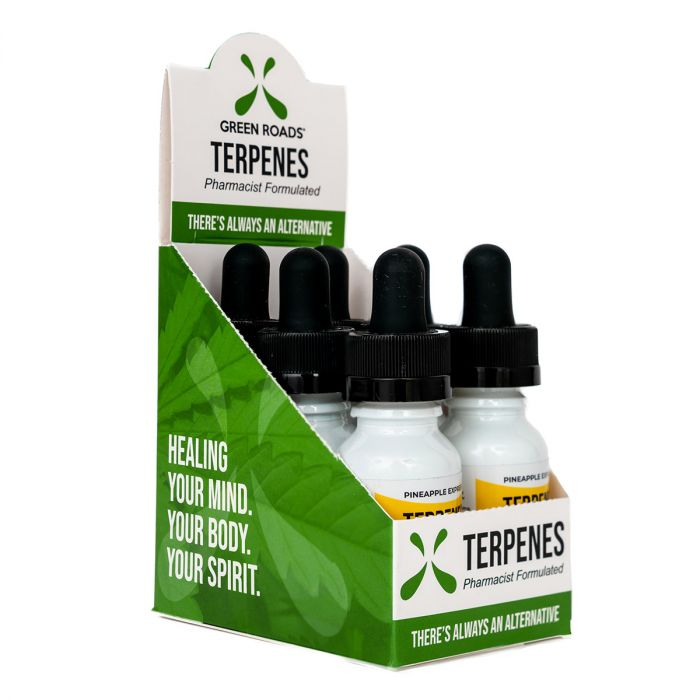 Pineapple Express 100mg CBD + Terpenes - Green Roads