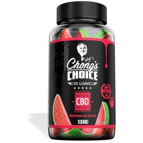 Chong's Choice Gummies - CBD Infused Watermelons [Edible Candy] - EC Direct CBD