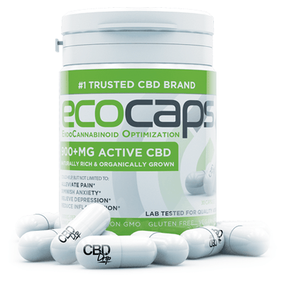 CBD Drip Eco-Caps 900+mg - EC Direct CBD