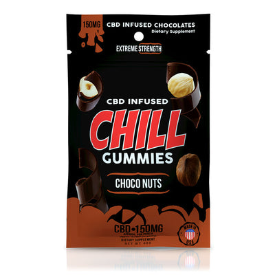 CHILL GUMMIES - CBD INFUSED CHOCO NUTS
