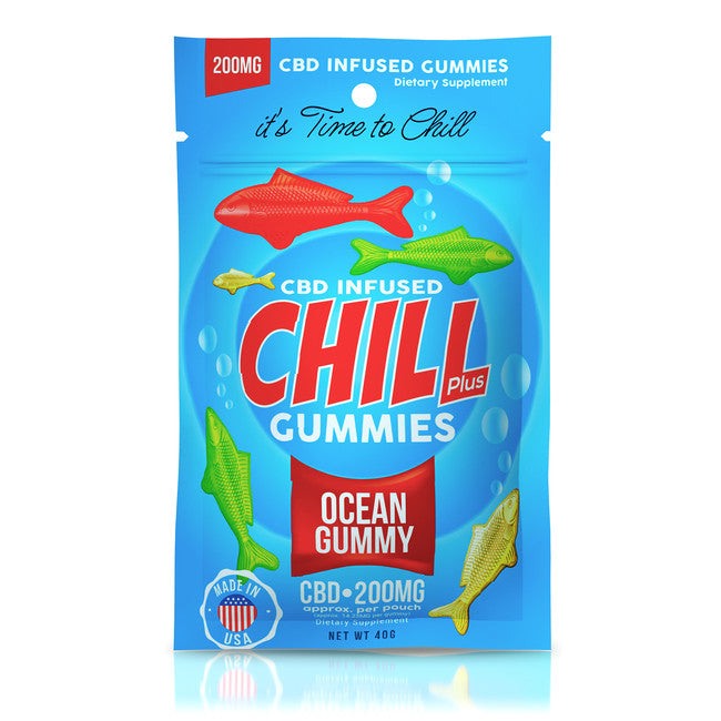 Ocean Gummies - Chill Plus CBD Infused Gummies - EC Direct CBD