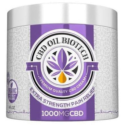 Biotech CBD Cream 1000mg - EC Direct CBD