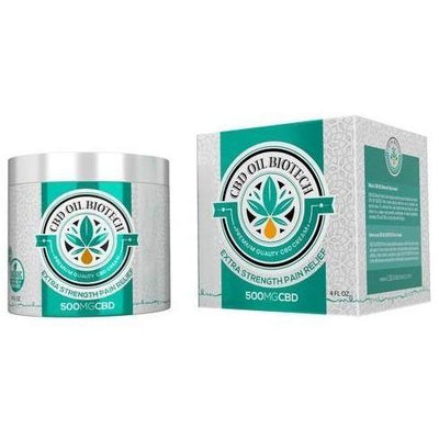 Biotech CBD Cream 500mg - EC Direct CBD