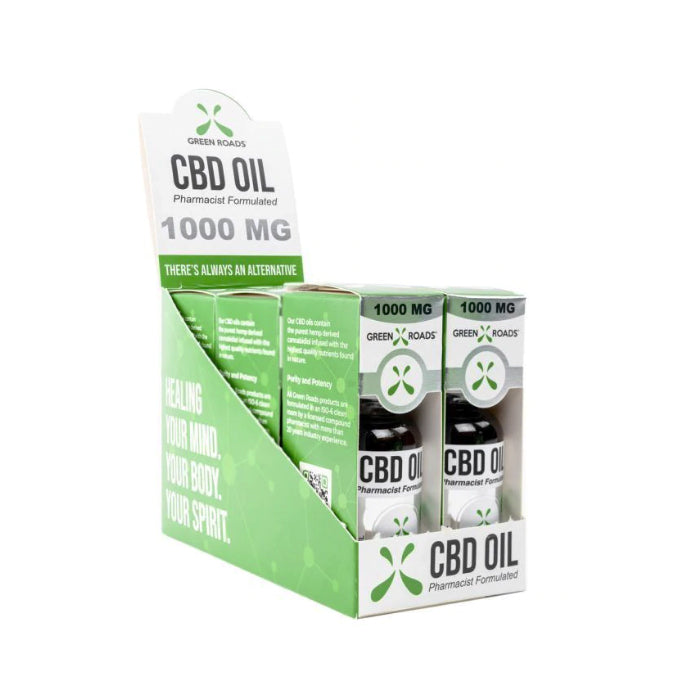 1000mg CBD Oil 30ml - Green Roads