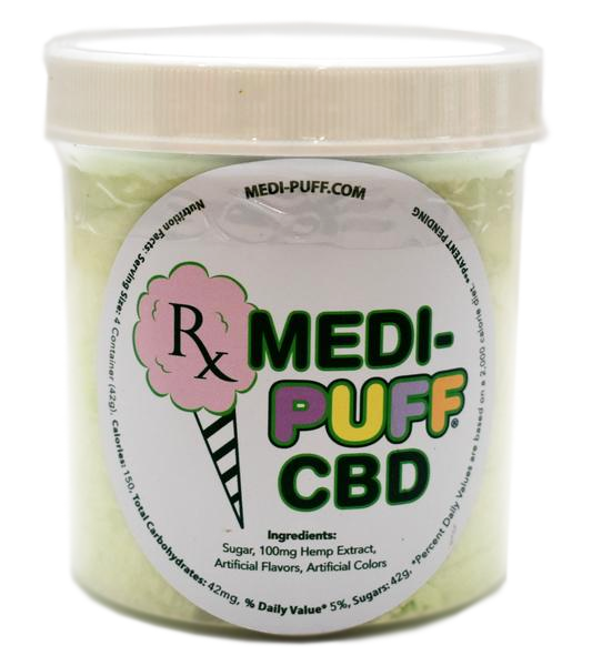 Green Apple - CBD Infused Cotton Candy