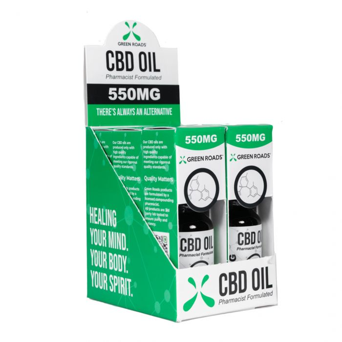 550mg CBD Oil - Green Roads