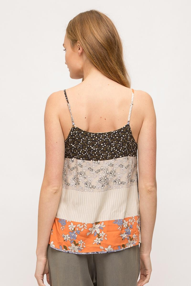 FLORAL PATCH CAMI