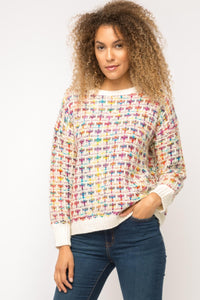 MULTI COLOR SWEATER