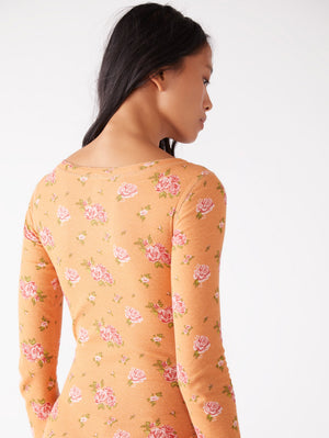 DYLAN THERMAL PRINTED BODYSUIT