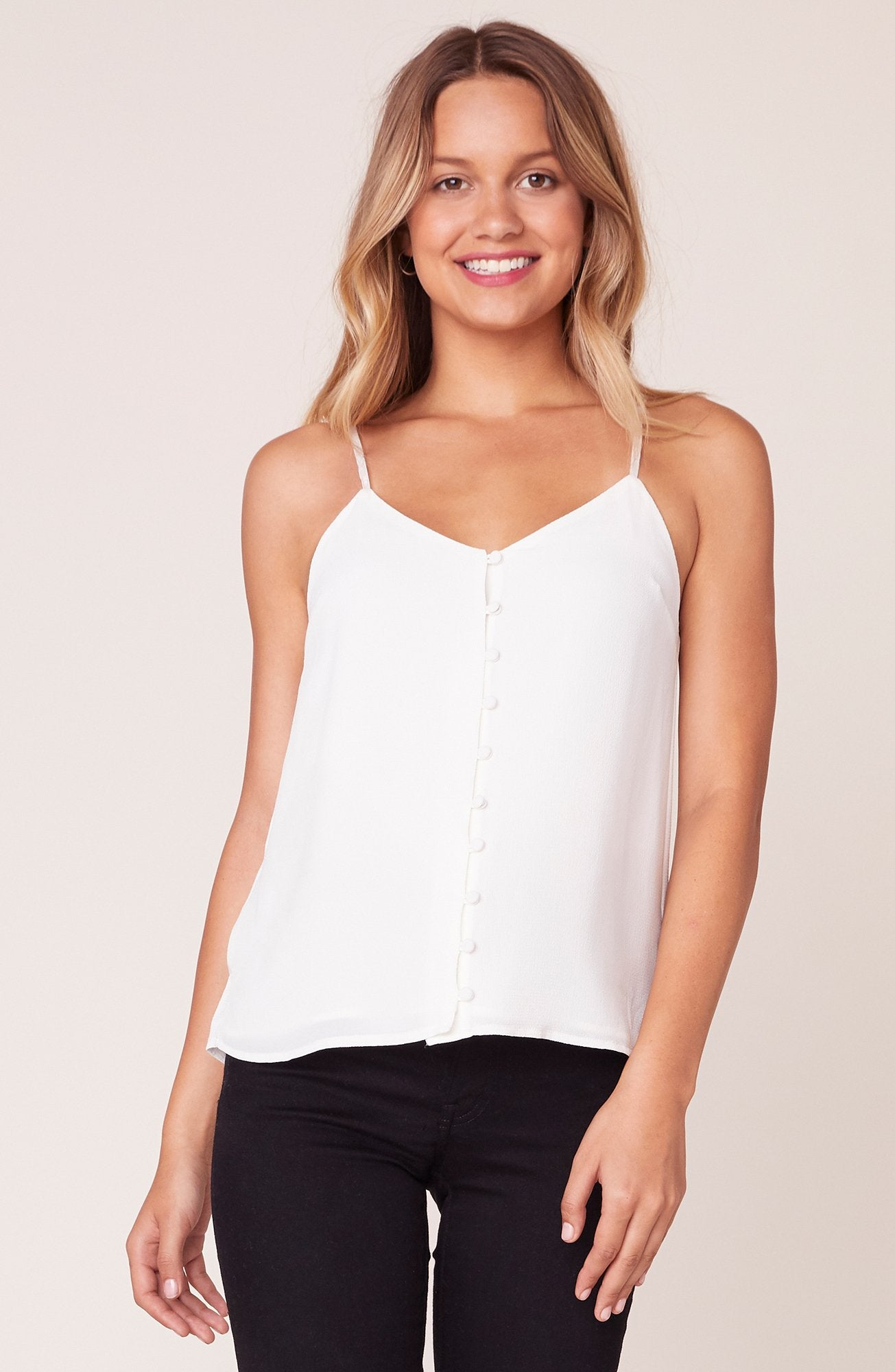 CRAZY LITTLE THING VELVET TRIM TOP (click for more colors)
