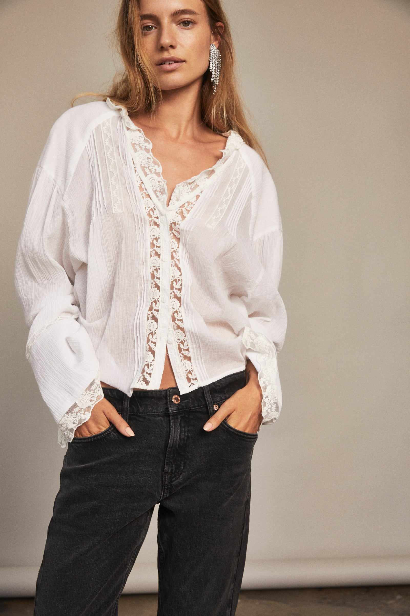 CLEMENCE BUTTON DOWN