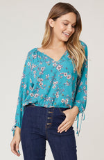 FLORAL PHILOSOPHY BLOUSE