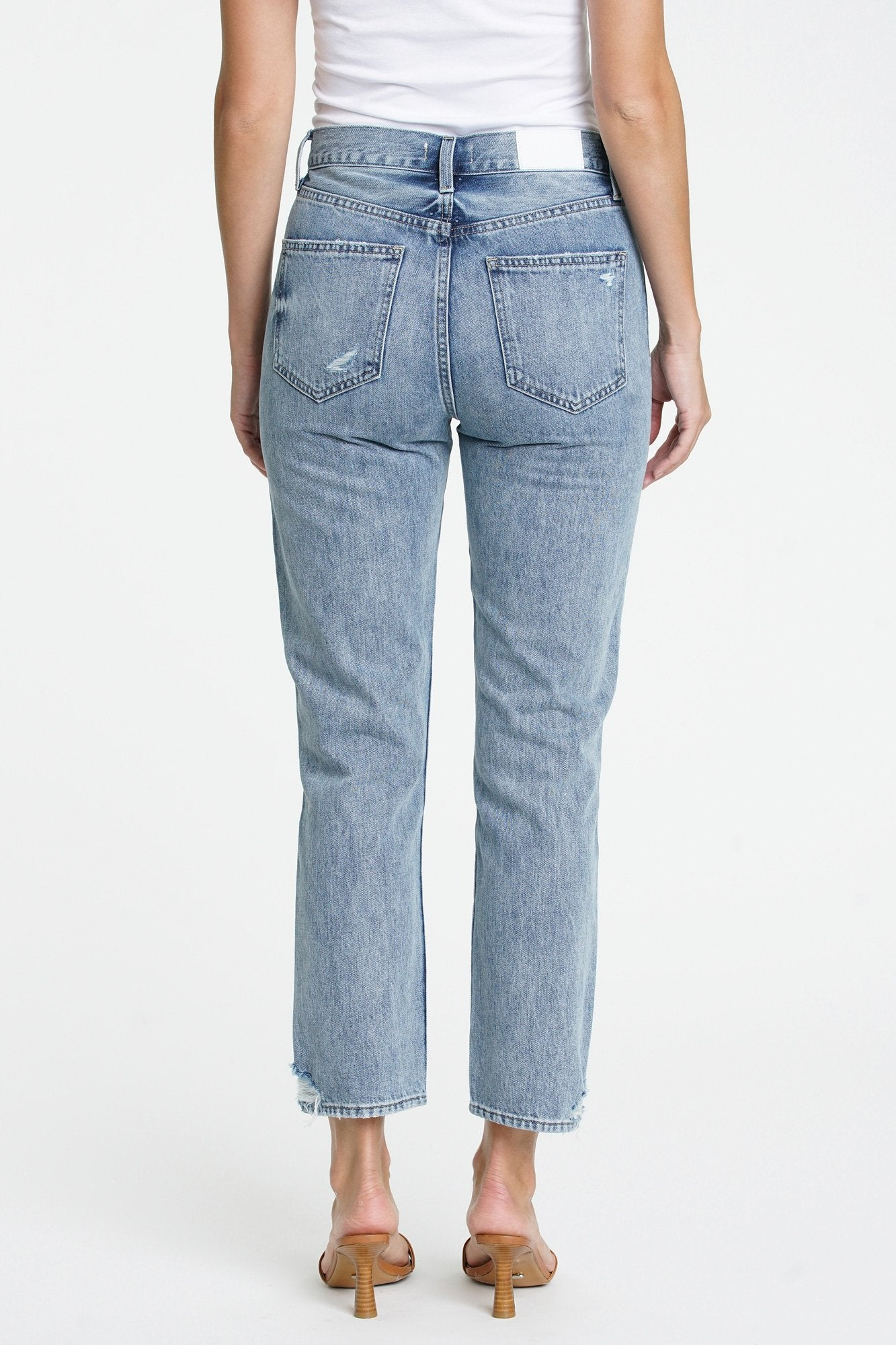 KEATON HIGH RISE SLIM STRAIGHT