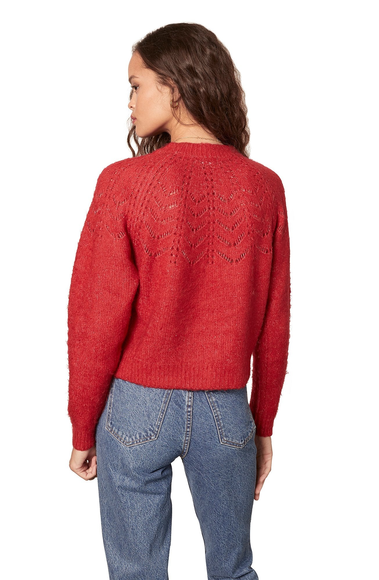 CRIMSON RED SWEATER