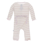 RUFFLE COVERALL SWEET STRIPE