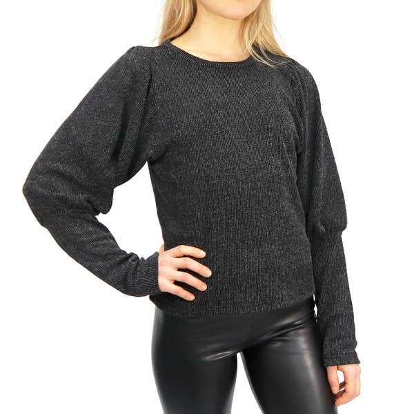 ASH PUFF SLEEVE TOP