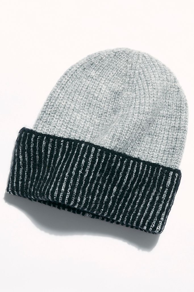 RIBBED BEANIE HAT (click for more colors)