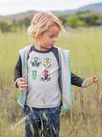 Forest Frogs Raglan Tee