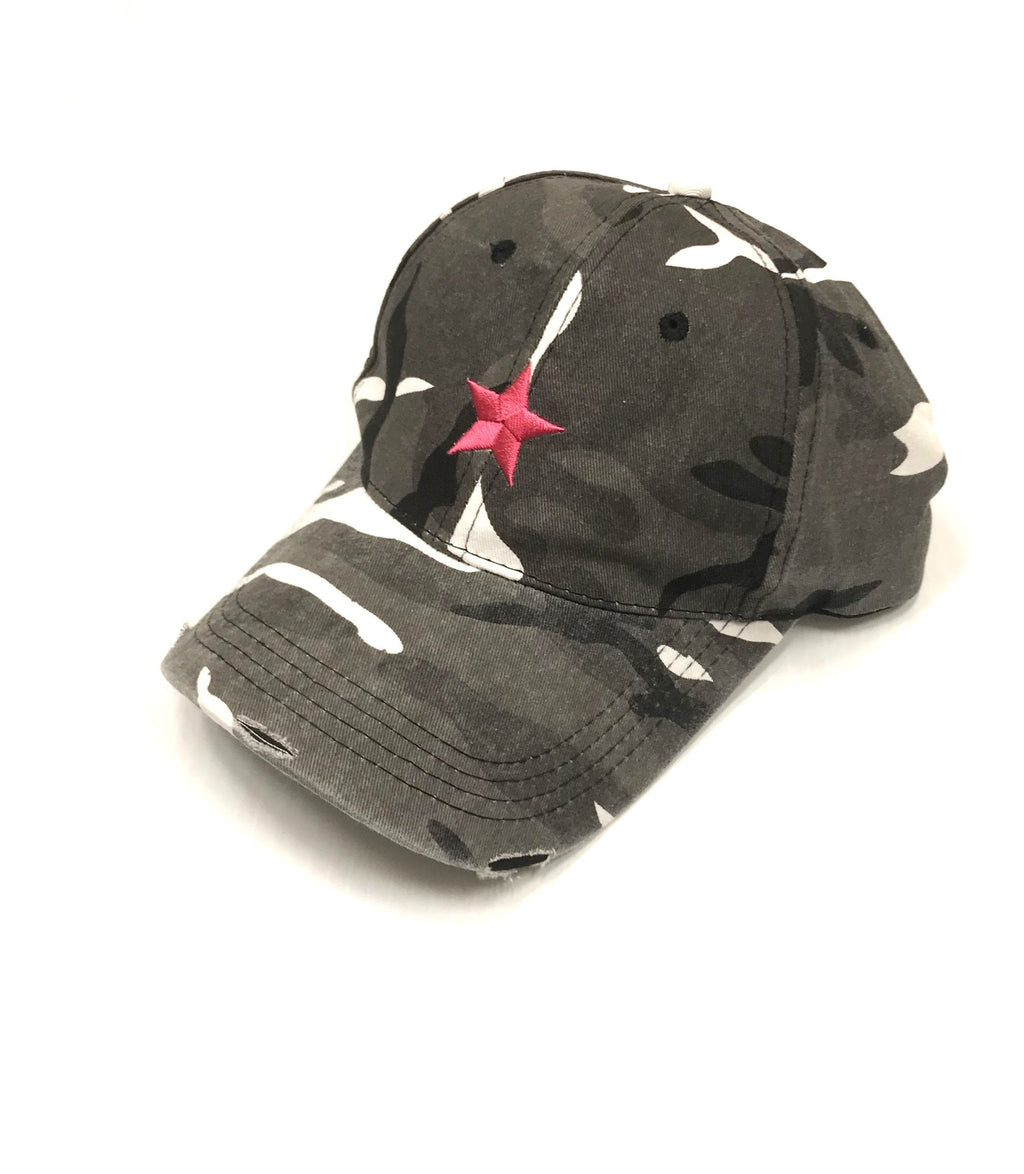 BASEBALL HAT GREY CAMO
