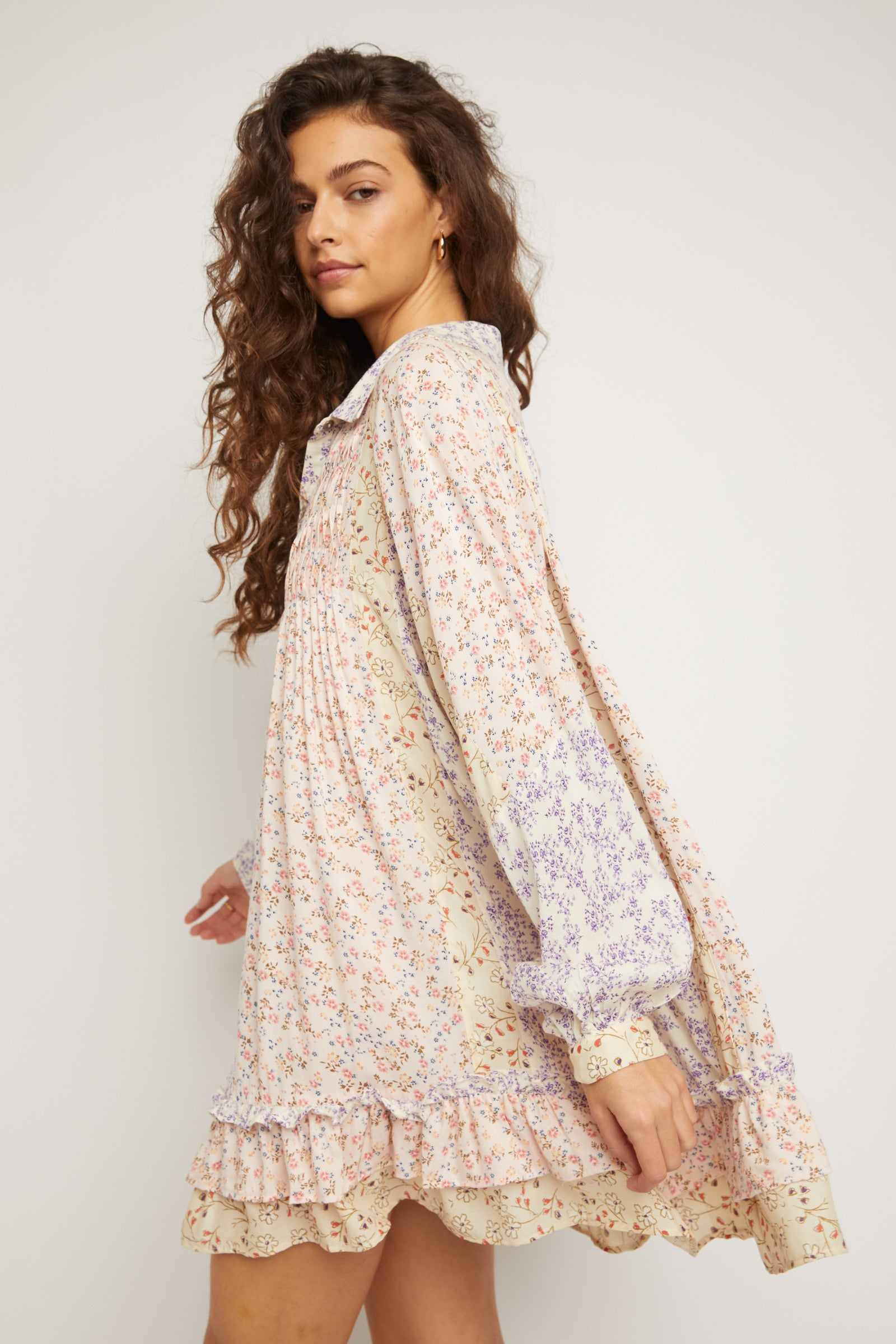 LOST IN YOU PRINTED TUNIC