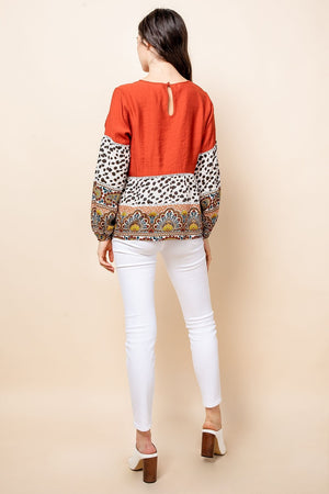 RUST MULTI PRINT TOP