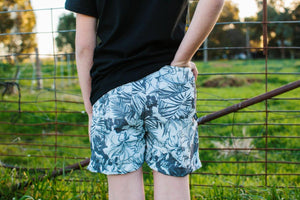 Summer Short – Monochrome Floral