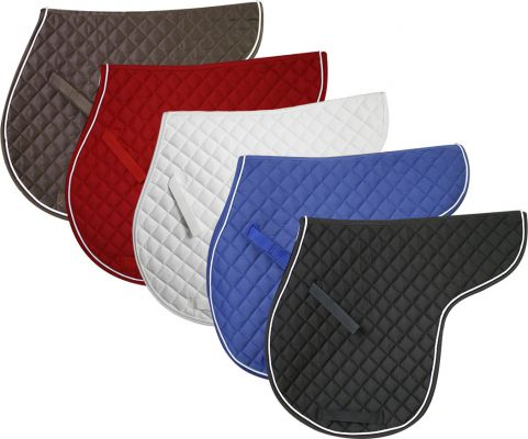 English Quilted Saddle Pad