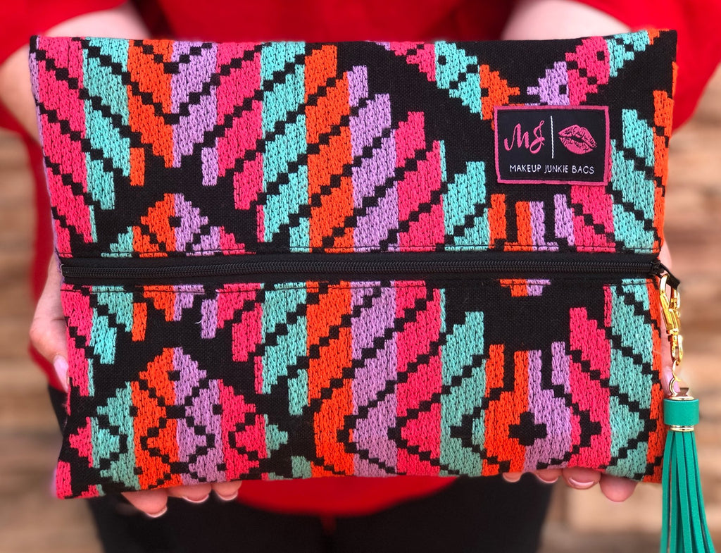 Mayan Princess Makeup Junkie Bag