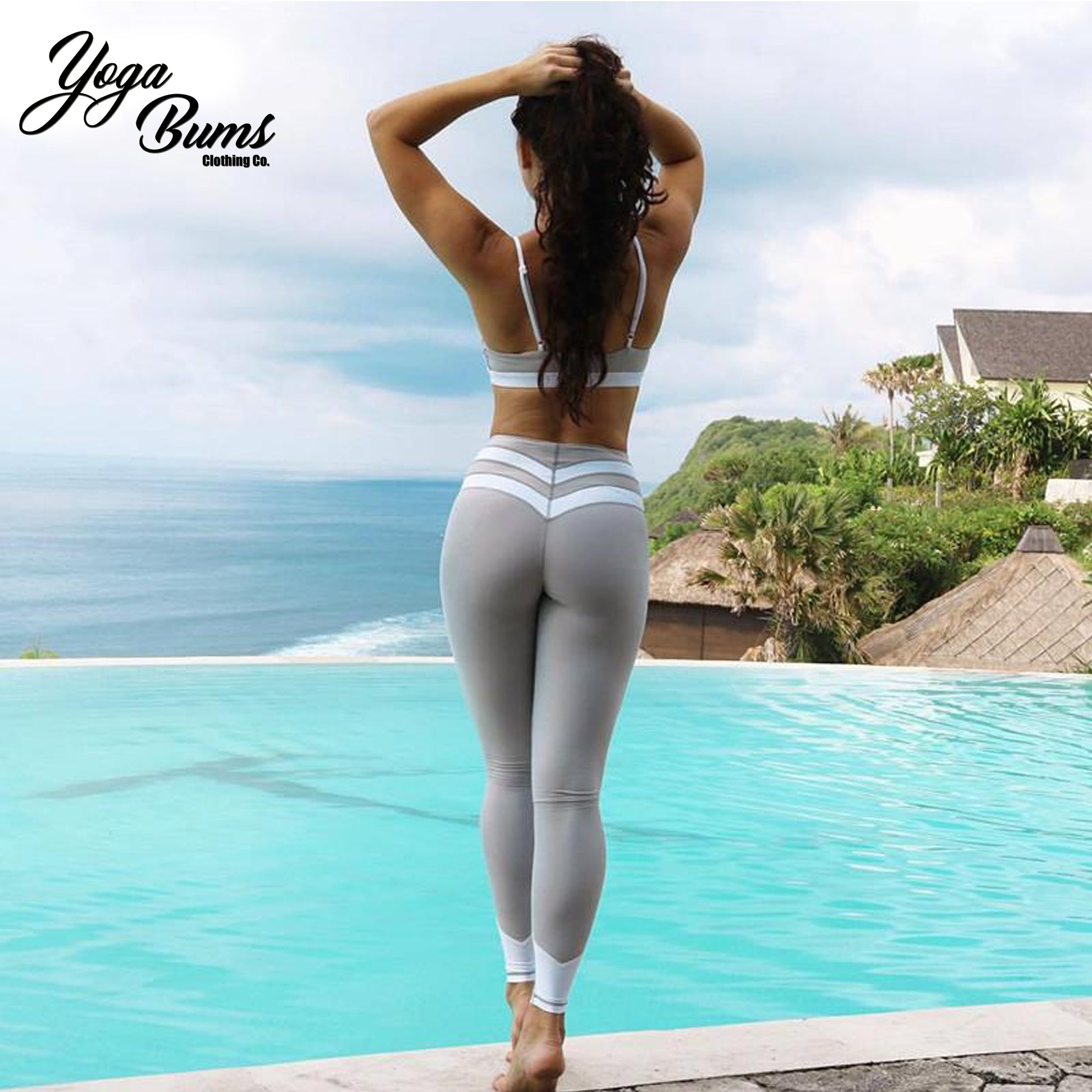 [iHeart] - Show Stopper Tight Fit Leggings (Black or Grey)