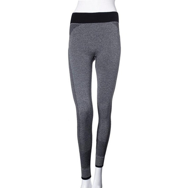 "[YB ESSENTIAL] - ""Girl Power"" Yoga Leggings"