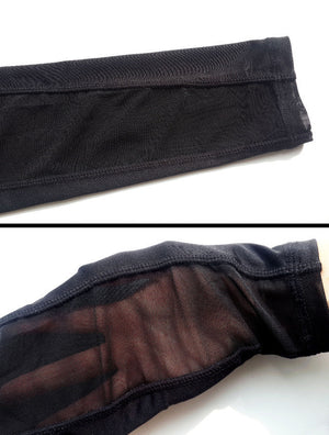 [YB ESSENTIAL] - Yoga Leggings With Mesh Front and Side Pocket