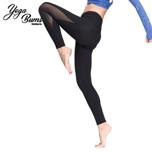 [YB ESSENTIAL] - Yoga Compression Pants with Mesh (Best Seller)