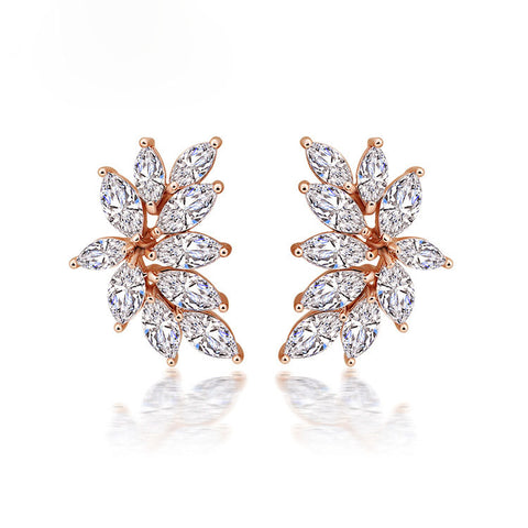 AUDREY | Sparkling Crystal Earrings