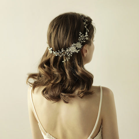 DREAM | Gorgeous Crystal Comb in Silver - The Luxe Bride Co