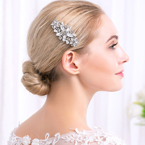 Gatsby Art Deco Wedding Hair Comb- The Luxe Bride Co
