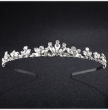 LEILA | Petite Tiara in Silver - The Luxe Bride Co
