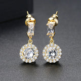 Marilyn | Crystal Earrings in Gold or Silver