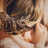 PEARL | Bridal Comb in Silver - The Luxe Bride Co
