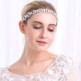 Rita Crystal Bridal Headband- The Luxe Bride Co