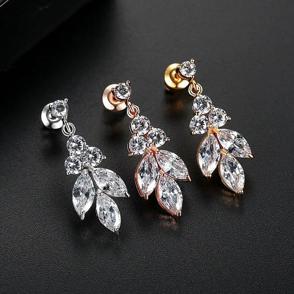 ROXI | Marquise Crystal Earrings in Gold, Silver or Rose Gold